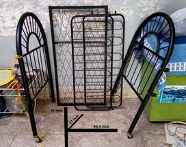 Baby Cart - Metal - Moveable - Fresh Condition