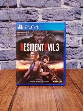 BD PS4 Resident Evil 3 Remake Nemesis .. game cd kaset bluray ps 4 RE3