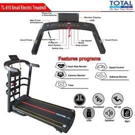 Alat Fitness Treadmill Elektrik TL-615 motor 2hp