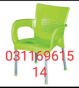 Plastic chair multi color are available