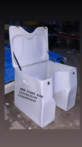 Fiberglass grocery and food delivery box