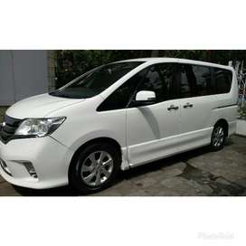 Mobil Nyaman & Mewah Nissan Serena HWS (Bisa Cash/Over Kredit)