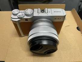 Fujifilm XA7 brown seperti baru
