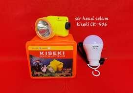 Hrga PROMO Senter head / senter kepala selam kiseki CK 546 20w