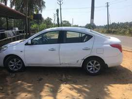 Nissan Sunny 2015 Diesel 230000 Km Driven no Clim single owned