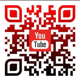 QR code multi color with logo
