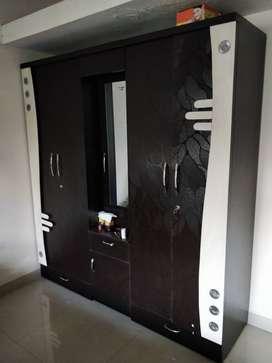 5 door wardrobe with dressing mirror for sale.