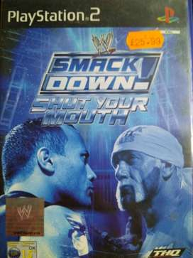 PS2 WWE Shut your Mouth