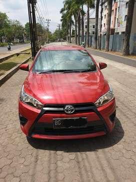 Toyota new yaris E UP G TRD 2017 nik 2016 MT manual dp 15jt