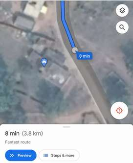 LAND AND HOUSE FOR SALE 22 DISMIL / 15 LAKH