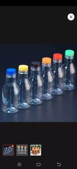 Botol Pir 250ml / Botol plastik 250ml / Botol Jelly / Botol Jamu