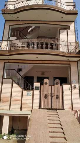 Double story house for sale at 383 mukharji nagar bharatpur,