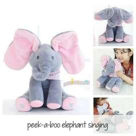 Boneka Gajah Nyanyi