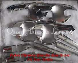 Paket Chrome Cover dan Outer All New Xenia