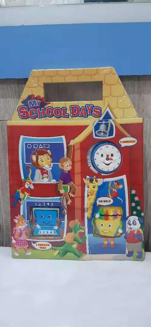 Buku mainan anak 3 Dimensi MY SCHOOL DAYS 0