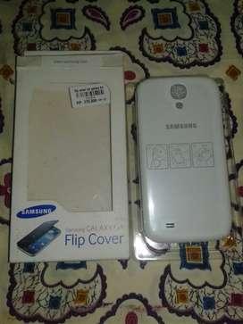 Flip Couver ori warna putih untuk Samsung Galaxy S4 big masih baru