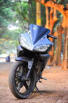 Yamaha R15 V2 its in a very good condition , it's well maintained
