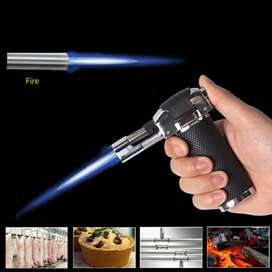 Lariz alat torch Korek Api Gas Refillable Butane Torch Flame Gun