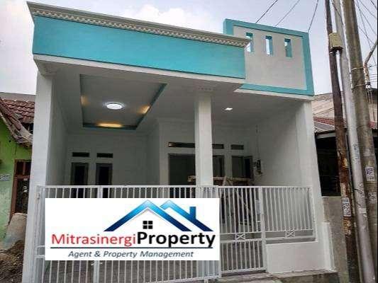 rumah bangunan baru harga nego di mutiara gading timur bekasi