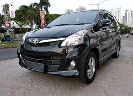 Toyota Avanza Veloz 1.5 A/T TDP10jt Double Airbag NIK 2013 Hitam