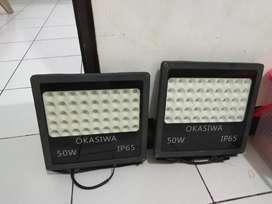 Lampu sorot okasiwa 50watt ip65