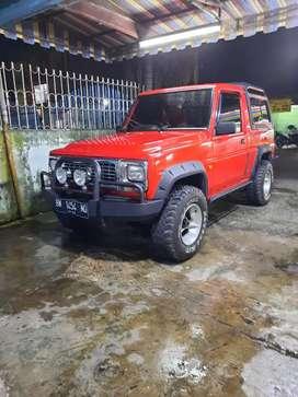 Daihatsu Rocky independen 4×4 tahun 1996 harga Rp 98 000 000