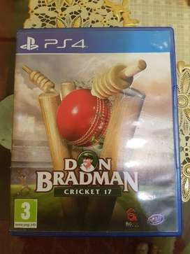 Don Bradman 2017 PS4 available in immaculate condition