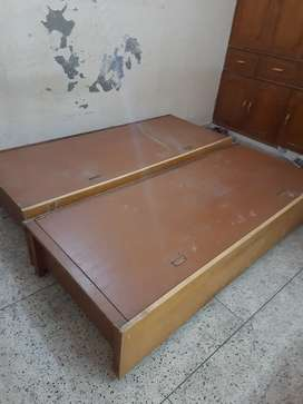 2 Box Beds for Urgent sale.