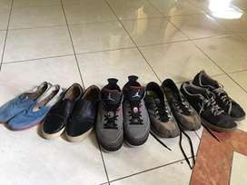 Jual Sepatu Branded (Wakai,Jordan,Skechers,Reebok) paketan Nego