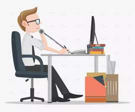 Tele caller / Office Staff (male staff only )