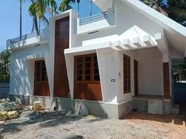 2 bhk 750 sqft new build house at paravur aluva road karumallur