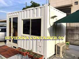 Jasa Container usaha Salon barbershop/custom booth usaha