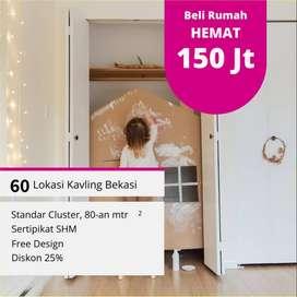 Bangun Rumah Hemat 150 Jt: Sapire Residence Bekasi, Sertipikat SHM