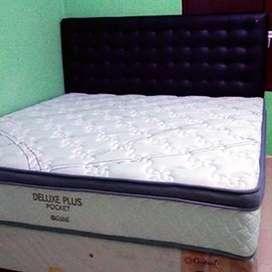 Matras Springbed Central Deluxe Plus Pocket 180x200 Tebal Matras 28 Cm
