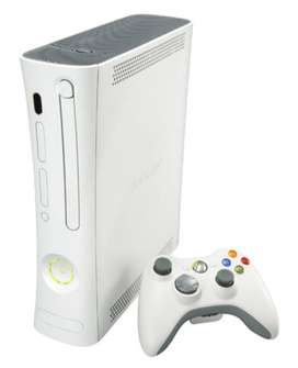 xbox 360 with 5 games dvd only 12000