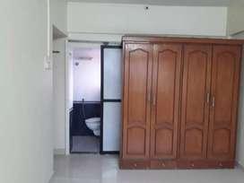 Good 2 bhk semi furnished flat
