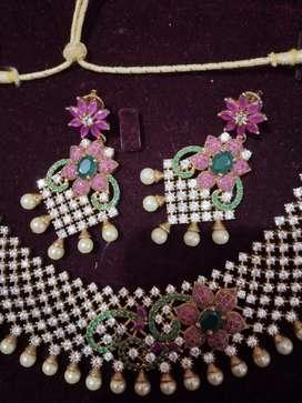 Fancy Bridal Jewellary set