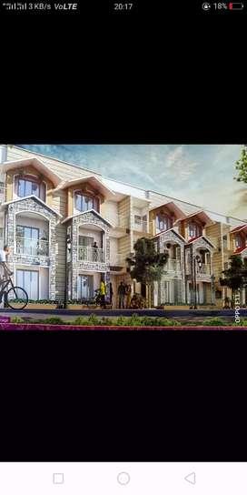New villa and floor in Santoor