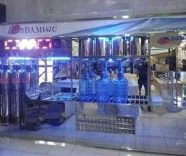 Damisiu jago nya di depot air minum partisi stainlees anti karat