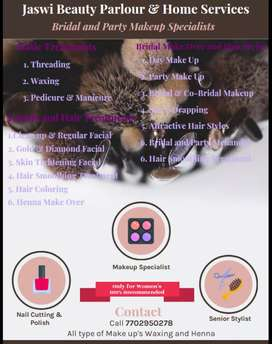 Jaswi Beauty Parlour and Home Services Beautician