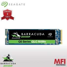 Seagate Barracuda SSD Q5 M.2 Pcie Gen3 Nvme 2280 500GB - M2 500 GB