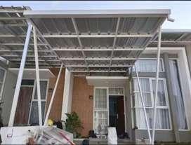 Kanopi atap spandek #$7845