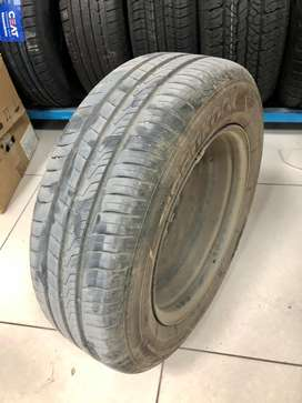 Hankook (195/65 R15) only 6000km+Wheel+Cover