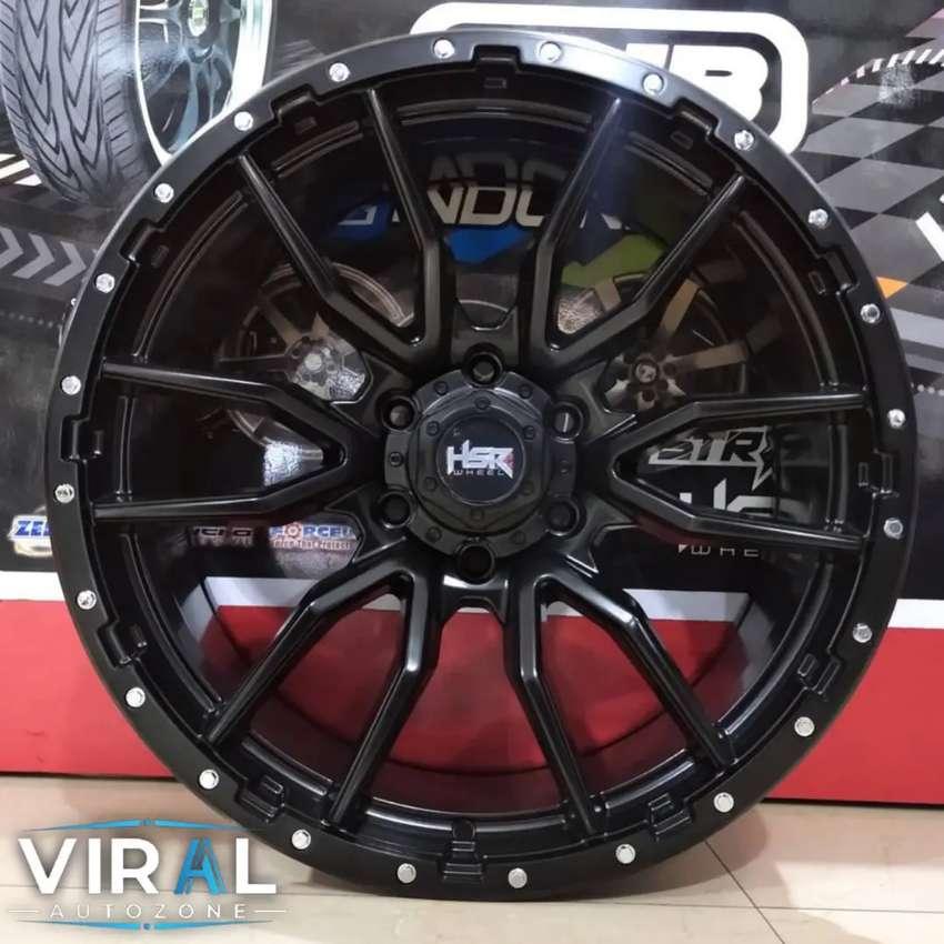 Velg Mobil Pajero Triton Pelak Racing R20 Pelek Hsr Terbaru Ring 20