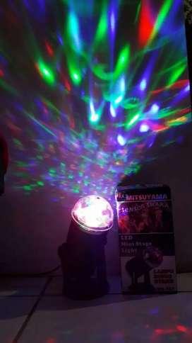 Lampu stand Disco sensor