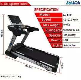 Treadmill Elektrik Komersial TL 33AC