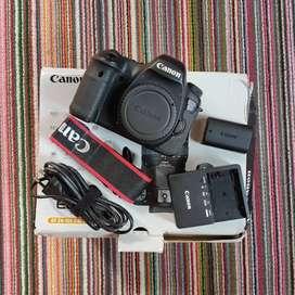 Body Canon 6d  box dan ok