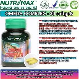 Nutrimax omega complex melancarkan sirkulasi darah