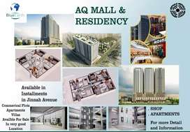 Luxurious Apartments in AQ Mall And Residency Bahria Town