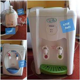 Miyako juicer dan miyako dispenser
